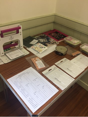We have a big polymer clay tool library so anyone can use the items on the day or bring it home with them for only £1. We use Guild membership fees to purchase tools, cutters, molds and other interesting items that would usually cost a lot for a member to purchase themselves. Members can also try a tool from the library before deciding to purchase it for themselves.