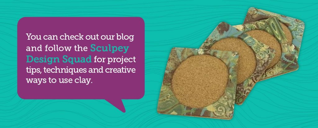 follow the sculpey design squad for clay inspiration