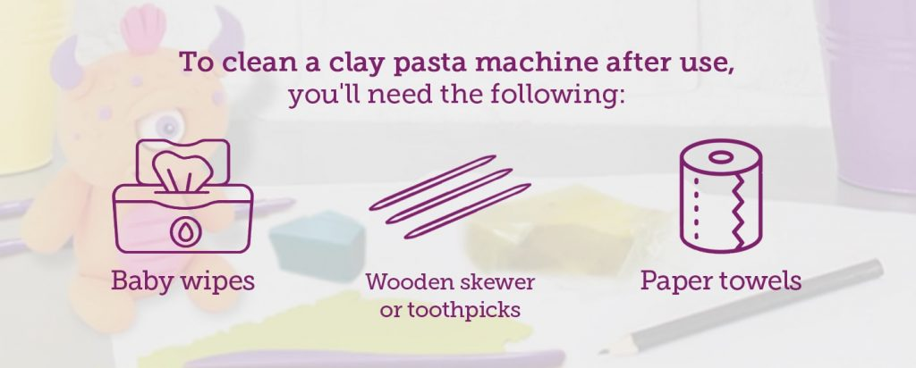 how to clean a pasta machine after use