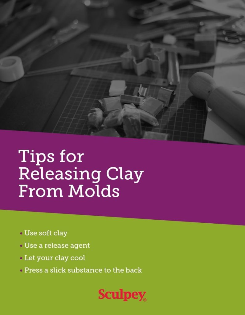 4 tips for releasing clay from molds