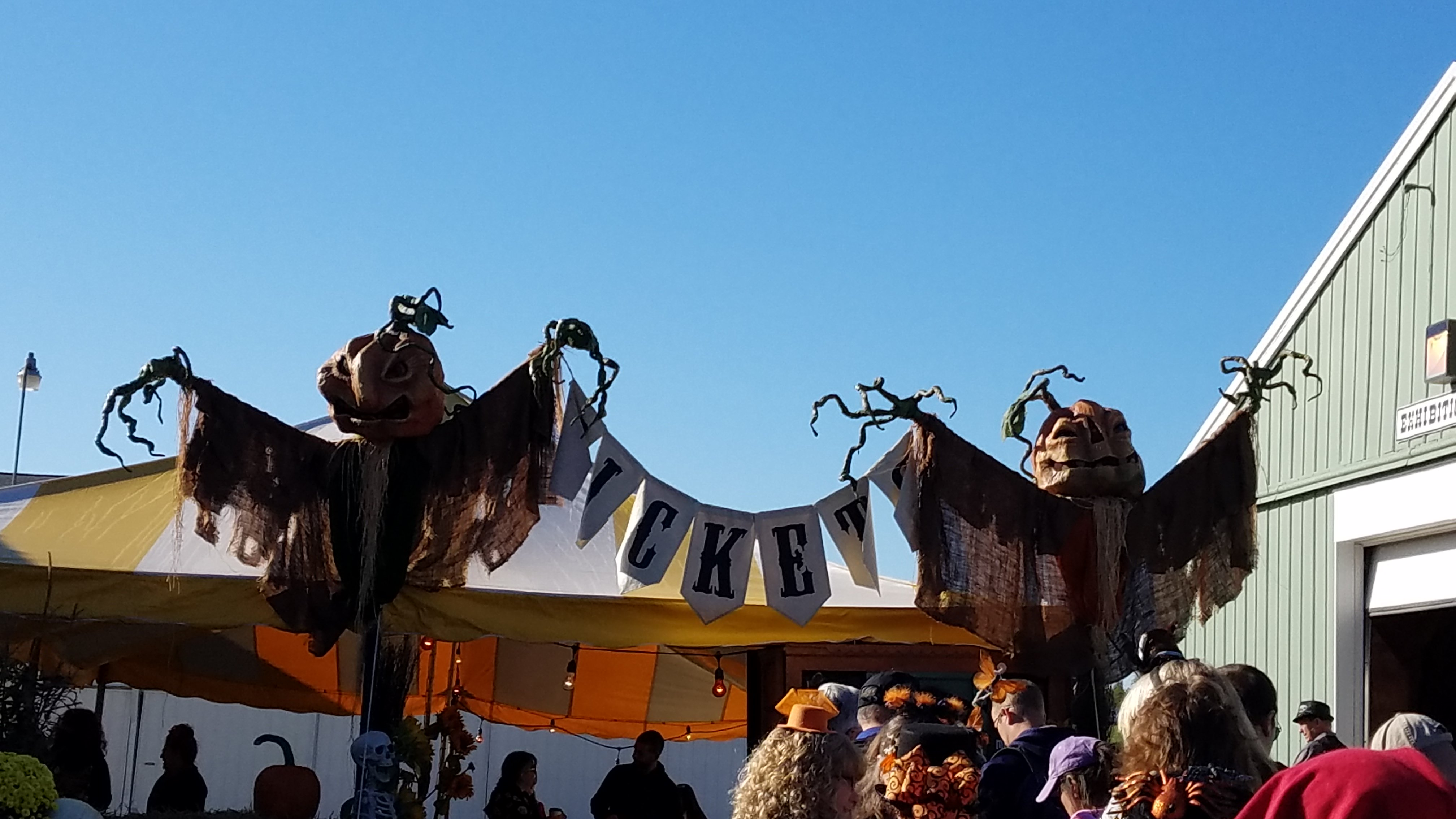 A Dream Come True- My visit to the Bewitching Peddlers of Halloween Art Show