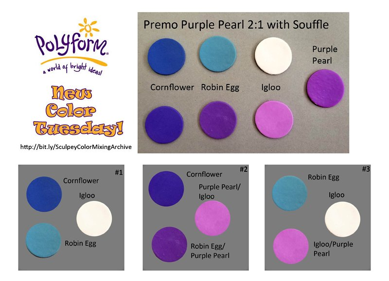 New Color Tuesday! Souffle Cornflower Pt 1