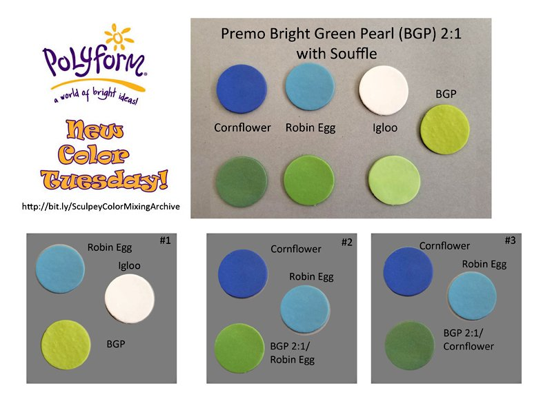 New Color Tuesday!Cornflower Pt 2