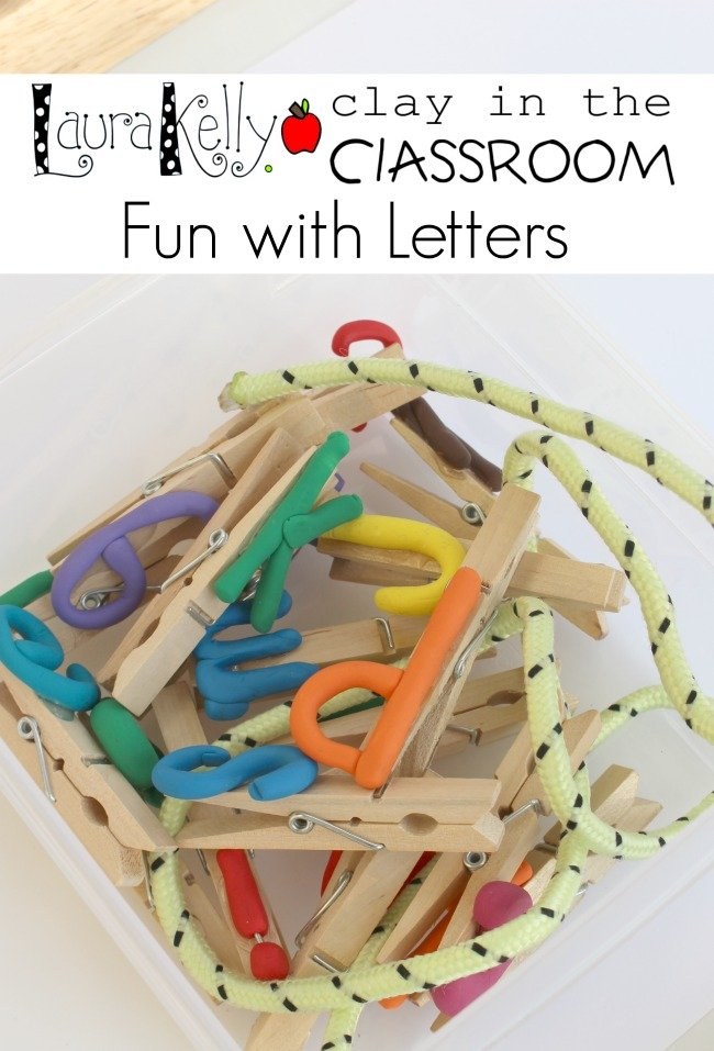 Clay in the Classroom - Fun with Letters
