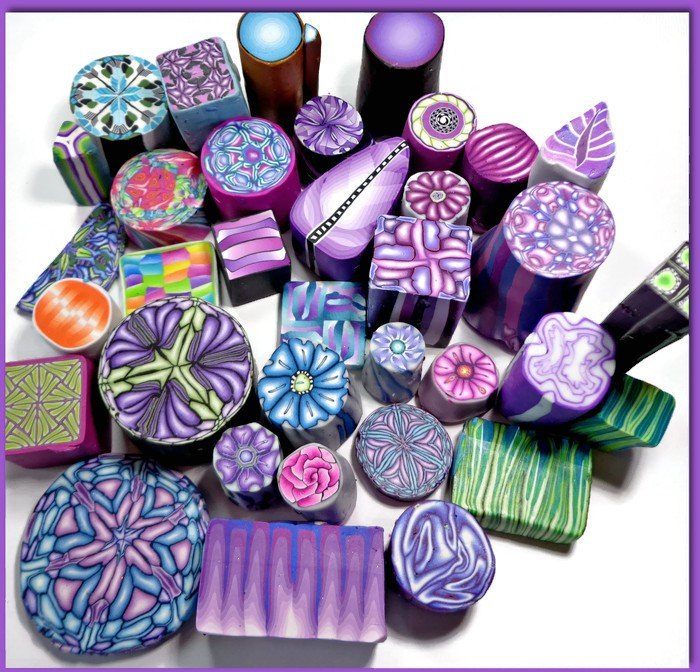 Building a Polymer Clay Cane Collection