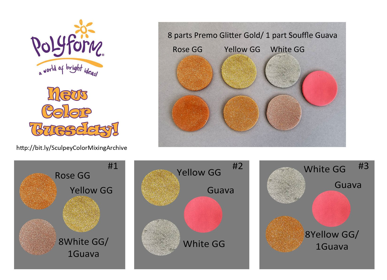 New Color Tuesday- All That Glitters Pt 1
