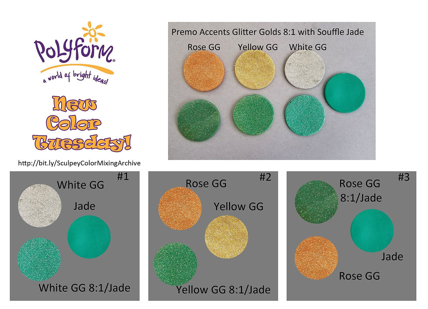 New Color Tuesday! All That Glitters Pt 2