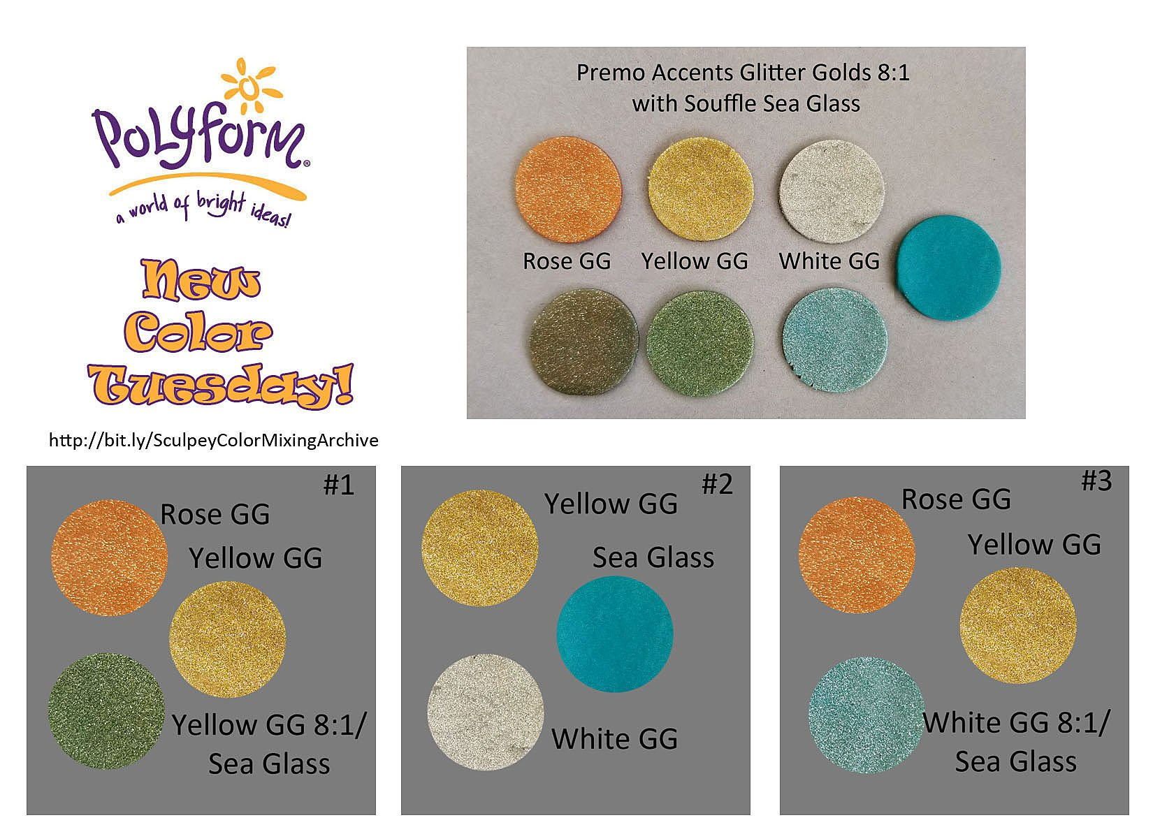 New Color Tuesday! All that Glitters Pt 4