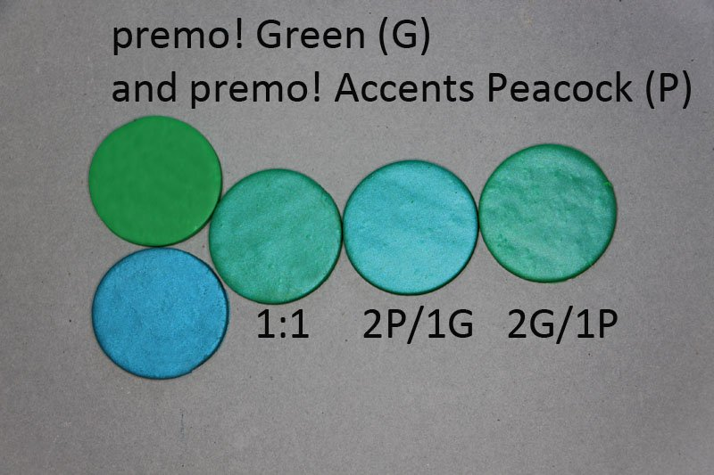 New Color Tuesday - It's All About the Green Pt 3