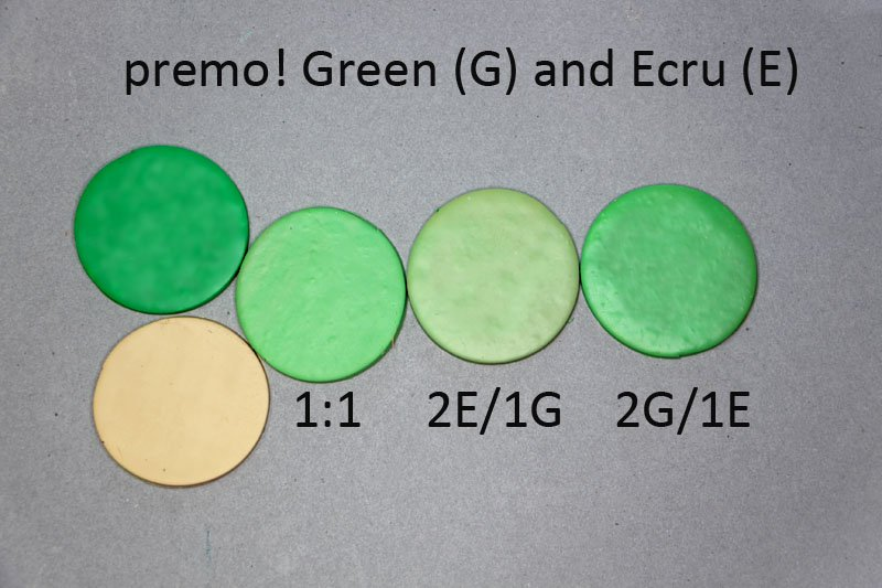 New Color Tuesday- It's All About the Green Pt 4