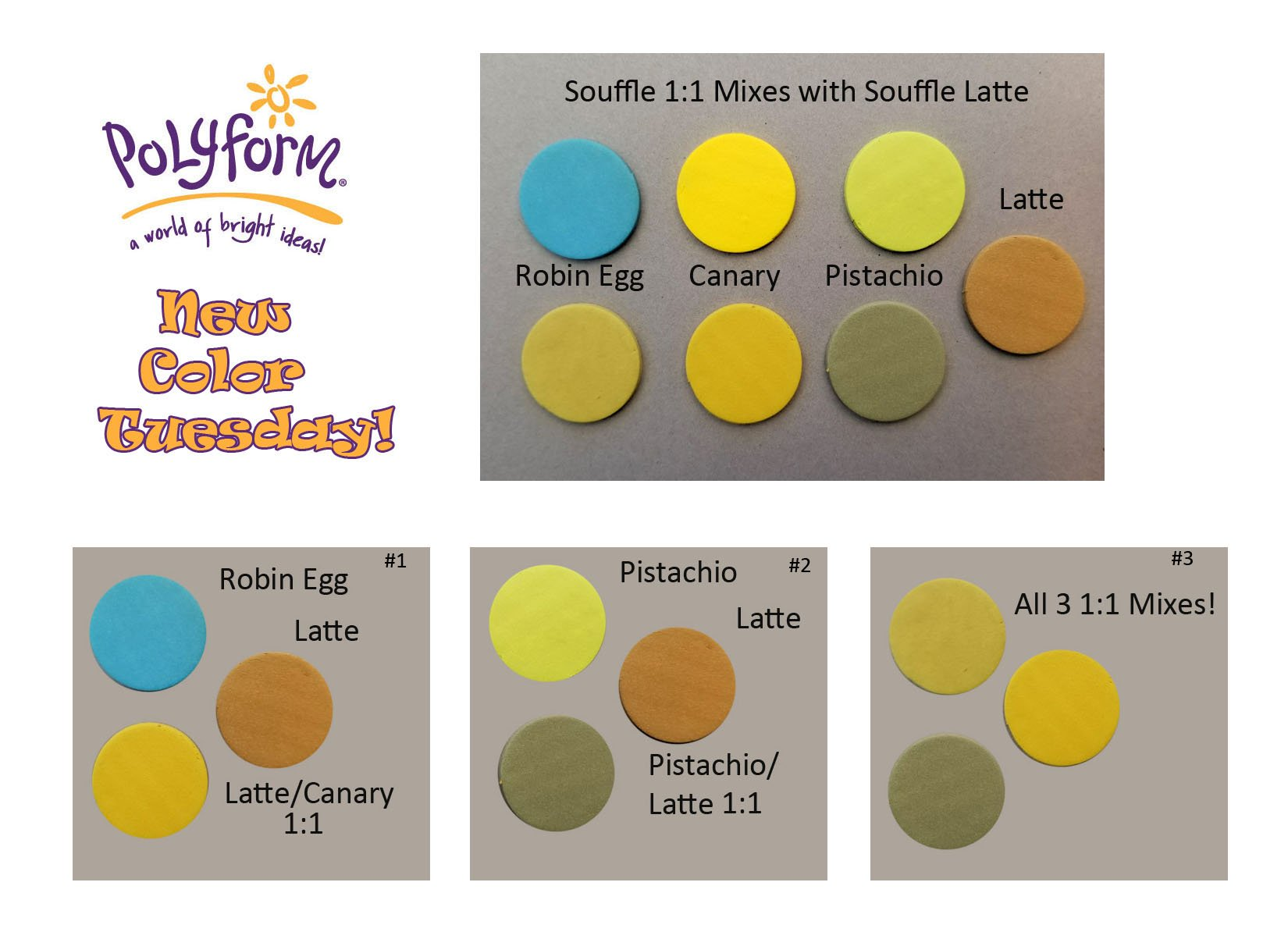 New Color Tuesday! syn's Favorites from 2018