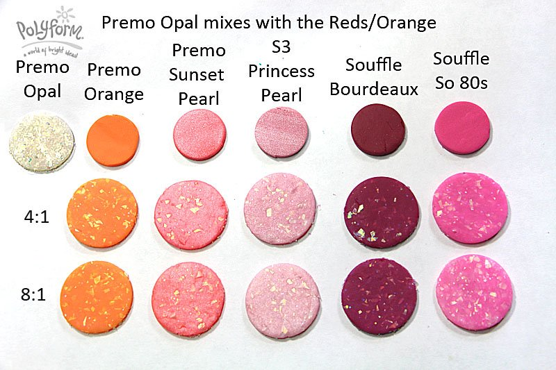 New Color Tuesday! Opal Goes Red
