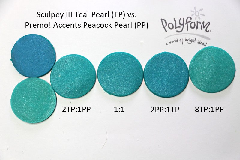 New Color Tuesday! The Teals Face Off