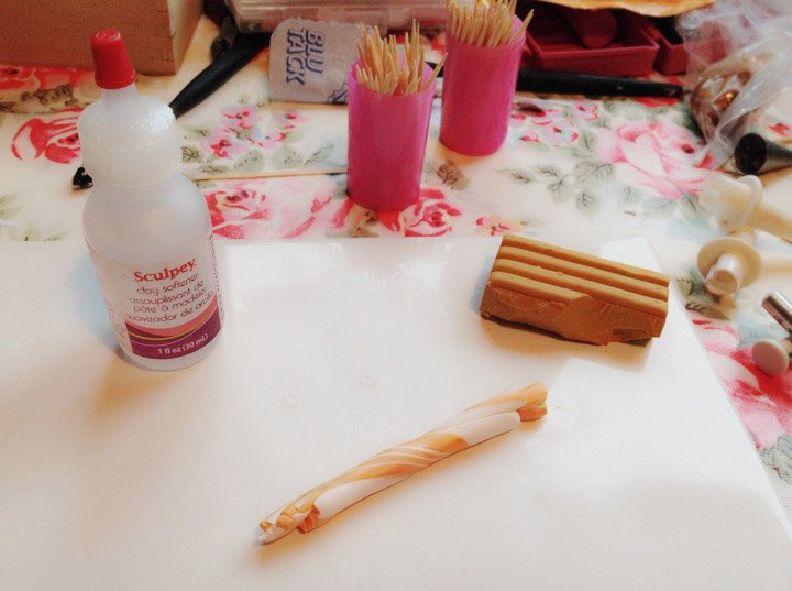 A great way to use Sculpey Clay Softener