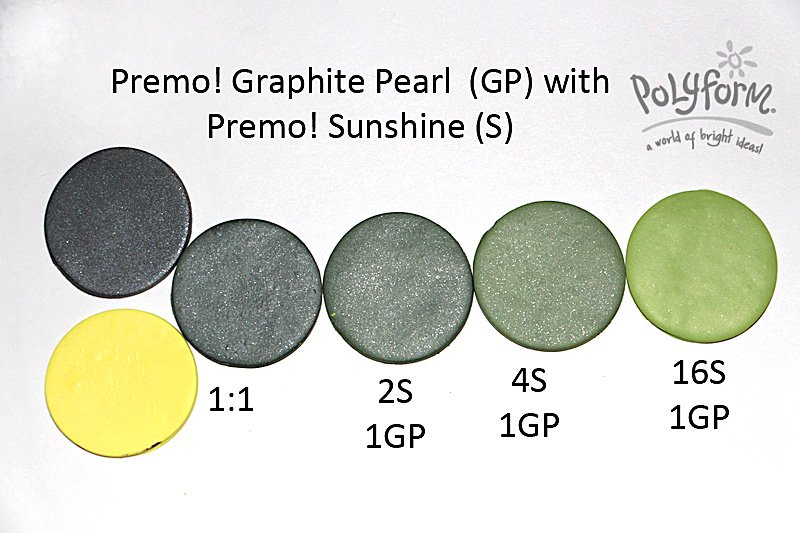New Color Tuesday! Graphite Goes Green