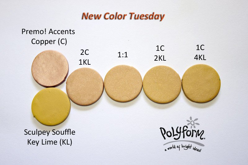 New Color Tuesday - Thar's Gold!