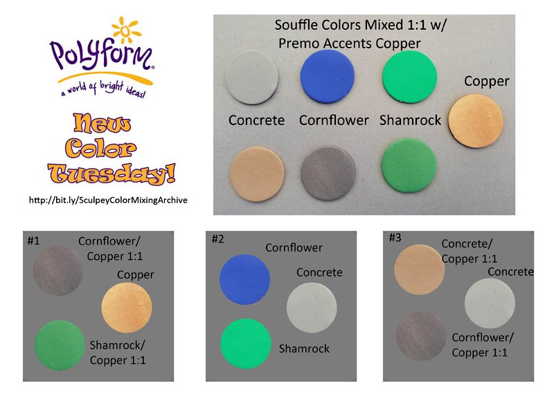 New Color Tuesday - Souffle Concrete Pt 1