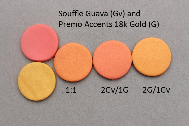 New Color Tuesday! Doing the Guava Pt 5