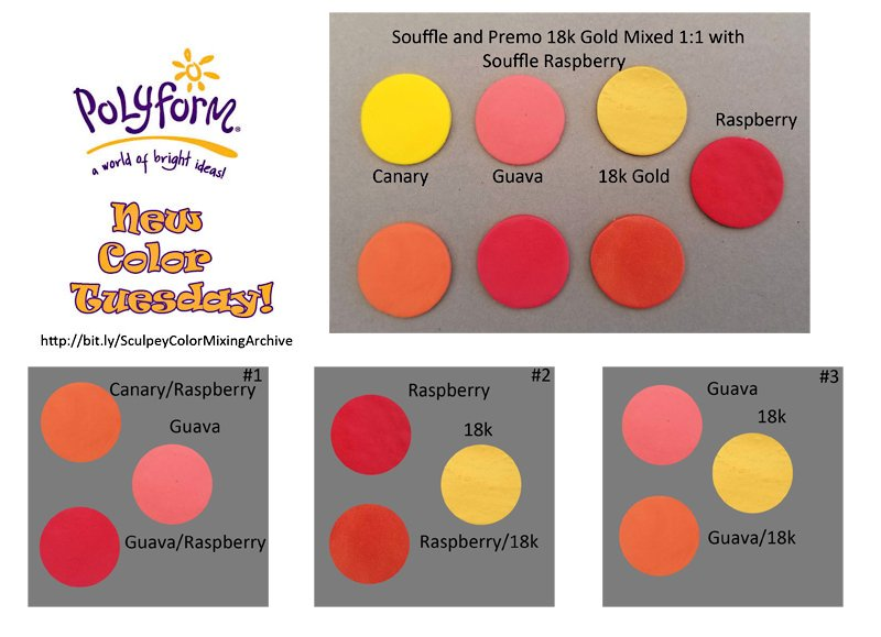 New Color Tuesday! Great Guava Part 5 Fall Color Mixes for Oranges