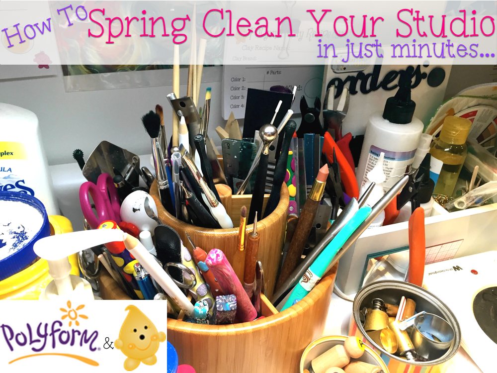How to Spring Clean Your Studio Easily and Efficiently
