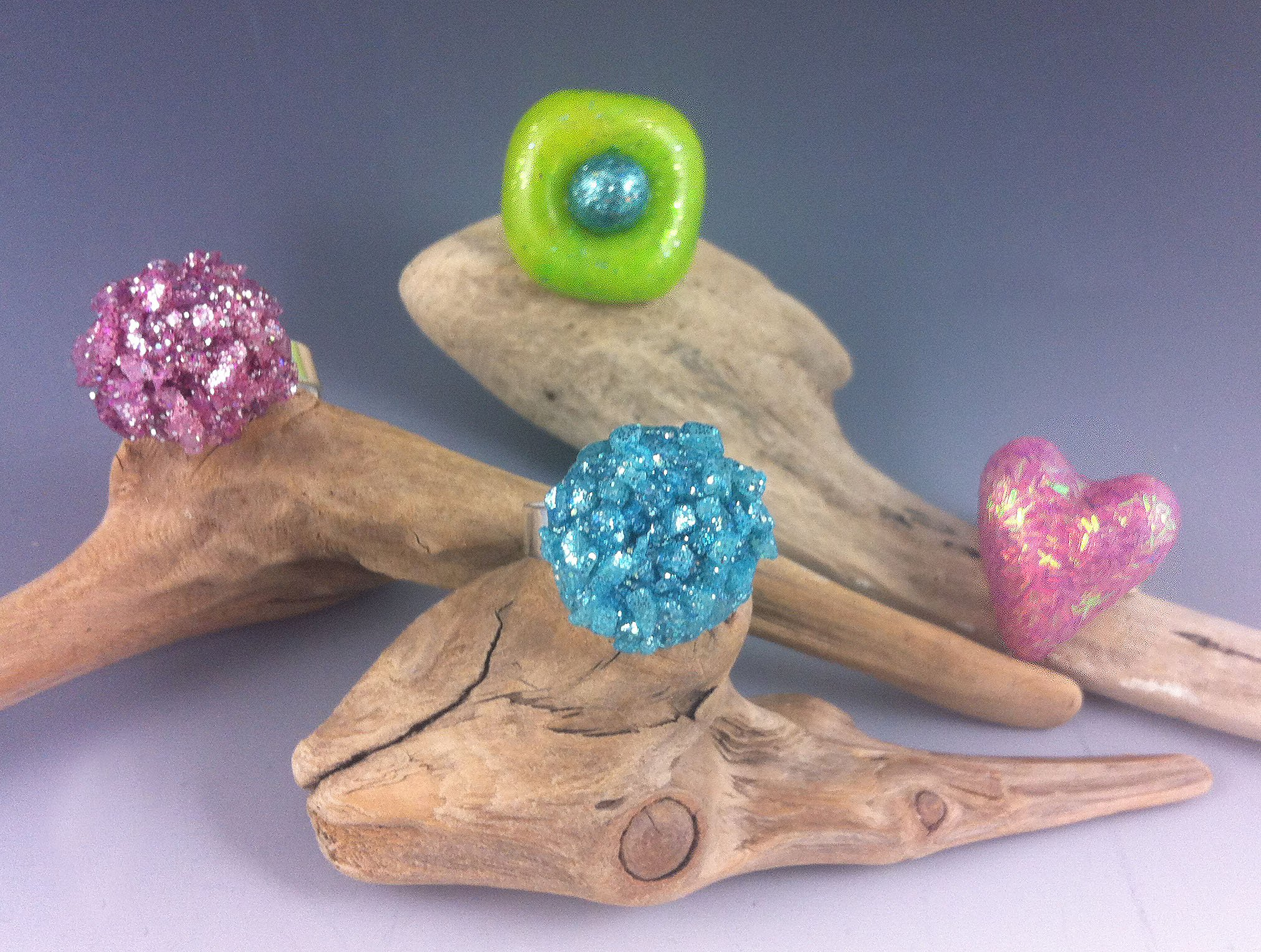 Summer Bling Rings