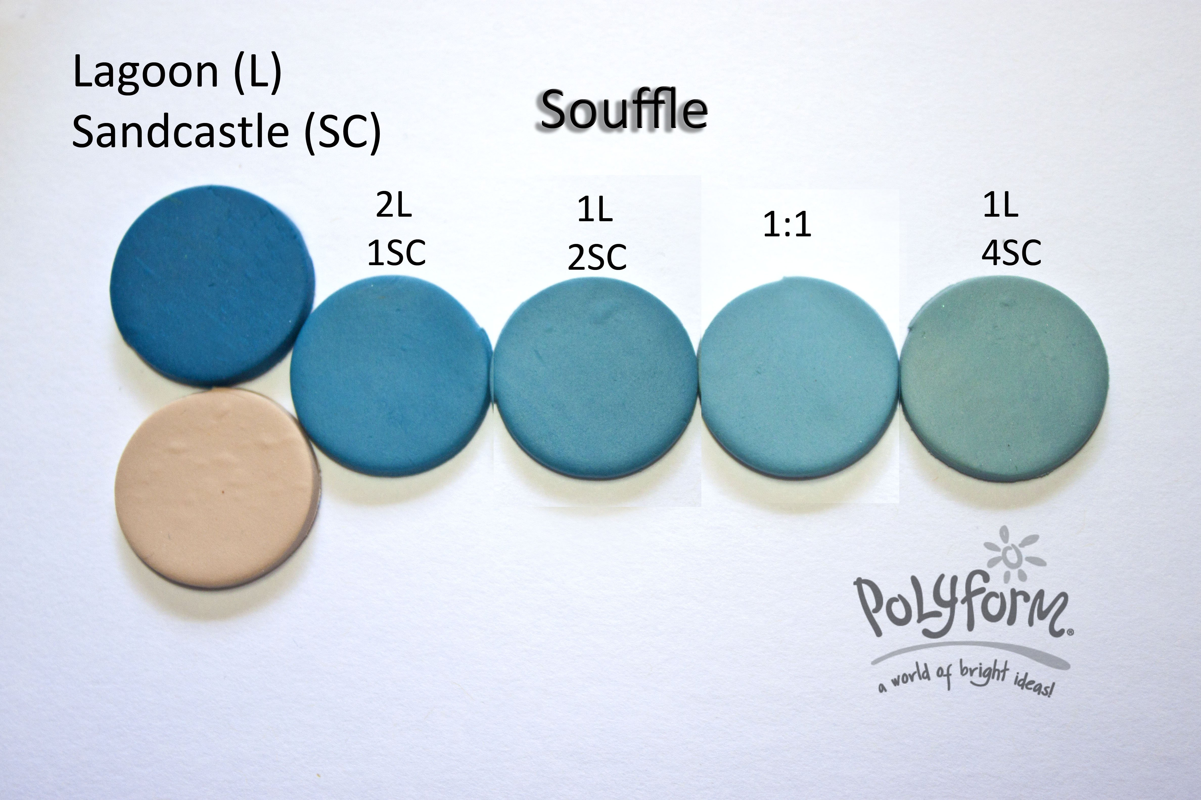 New Color Tuesday! Lagoons and Sandcastle