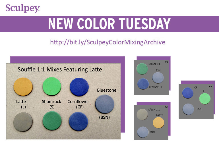 New Color Tuesday! It's Time for a Little Latte Pt 2