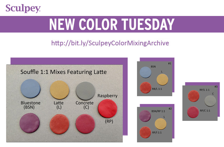 New Color Tuesday! Time for a Little Latte - Pt 3
