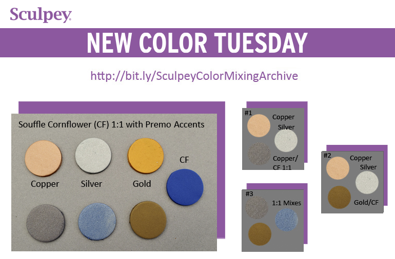 New Color Tuesday! Summer Cornflower Pt 1