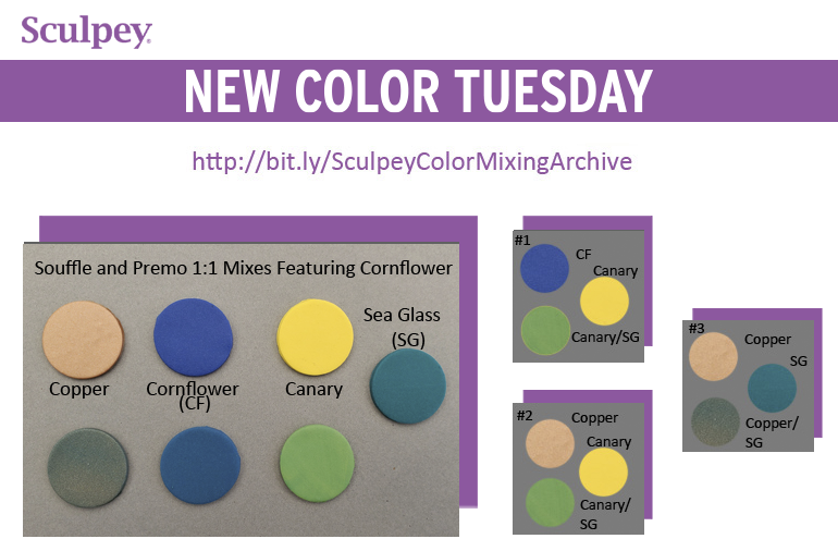 New Color Tuesday! Summer Cornflower Pt 2