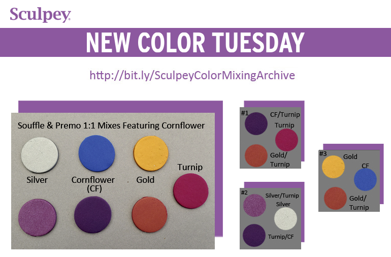 New Color Tuesday! Summer Cornflower Pt 3