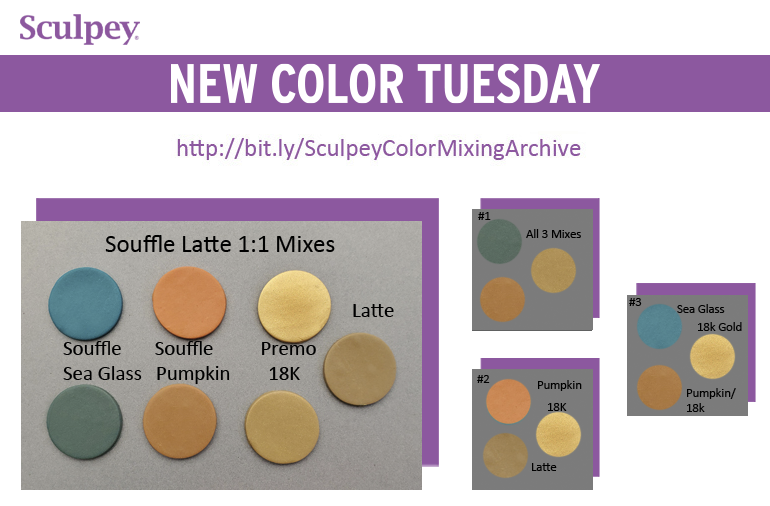 New Color Tuesday! Summer Sea Glass Pt 4