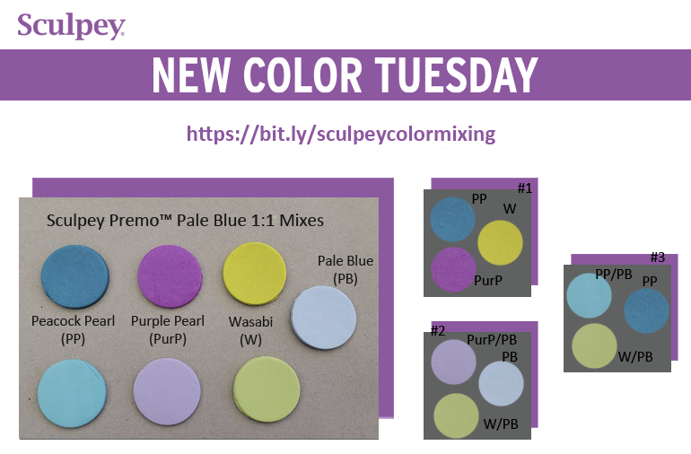 New Color Tuesday! Introducing Premo Pale Blue-Pt 2