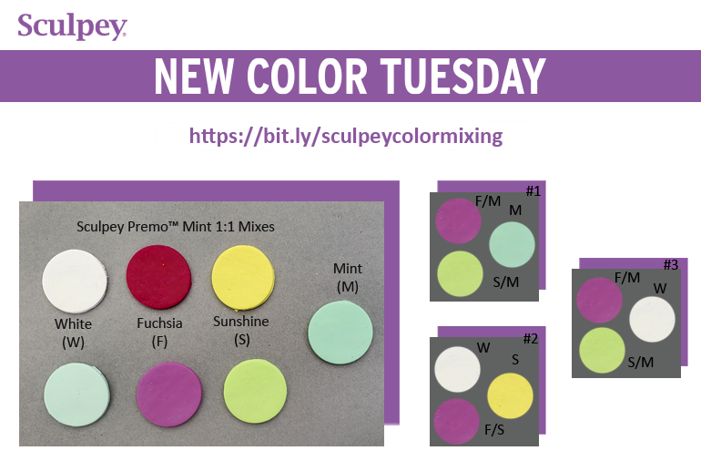 New Color Tuesday! Introducing Premo Mint - Pt 2