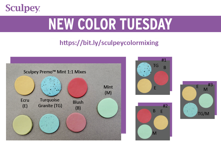 New Color Tuesday! Introducing Premo Mint- Pt 3