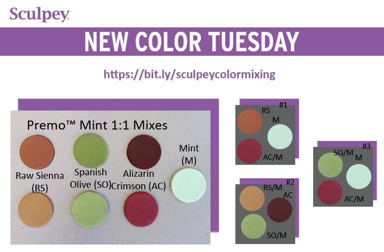 New Color Tuesday! Introducing Premo Mint Pt 4