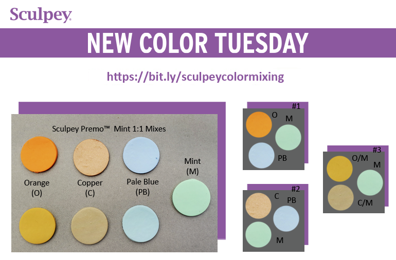 New Color Tuesday! Introducing Premo Mint - Pt 5