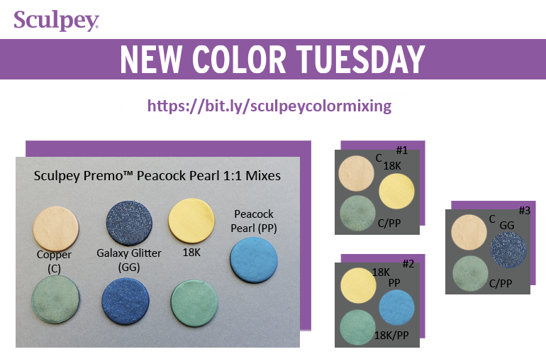 New Color Tuesday! Peacock Pearl Mix Highlights Pt 1