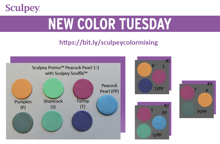 New Color Tuesday! Peacock Pearl Mix Highlights Pt 3